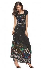 Boho stiilis kleit 1255