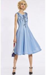 Tikandiga pidulik vintage stiilis kleit 435657