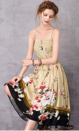 Lillemustriline kleit - seelik L110076C