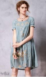 Etno stiilis tikandiga kleit LA10262C