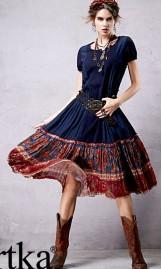 India stiilis kleit LA14257X