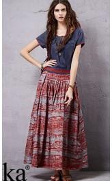 Kombineeritud kleit boho stiilis LA14553X